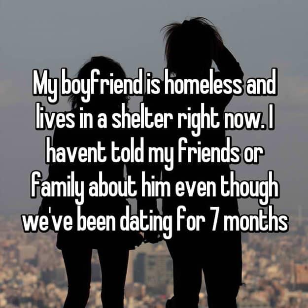 Should I date a homeless Guy