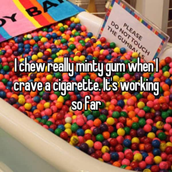 how-to-handle-smoking-cravings minty gum
