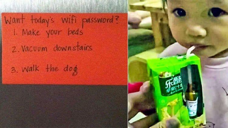 parents trolling kids