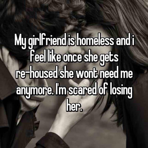 im dating a homeless man