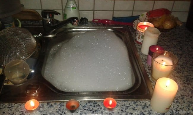 candle-in-the-sink