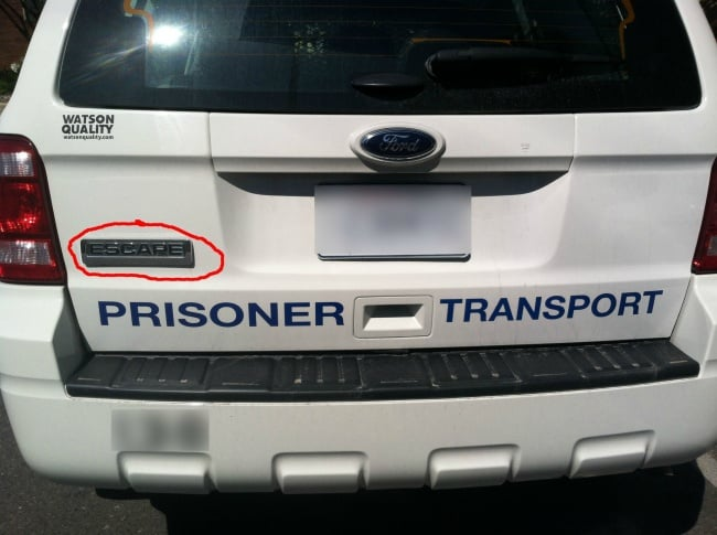 ironic-police-car