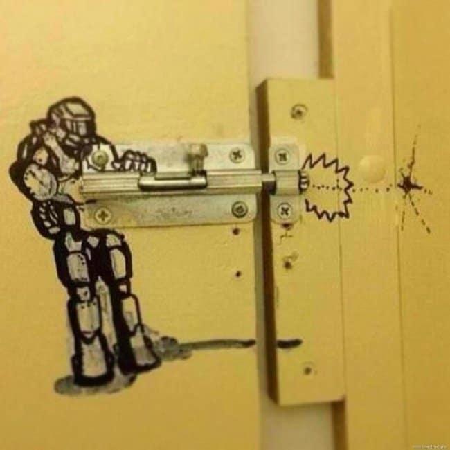 lock-vandal