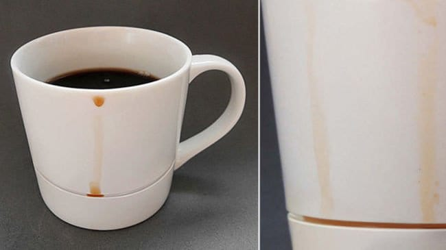 anti drip cup