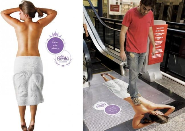 back_massage_creative_escalator_ads