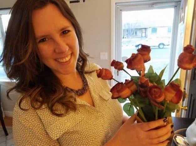 bacon-rose-bouquet