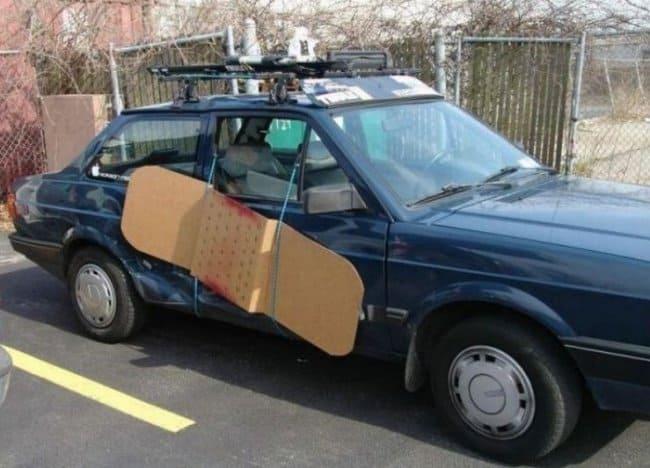 band-aid-to-repair-car-door