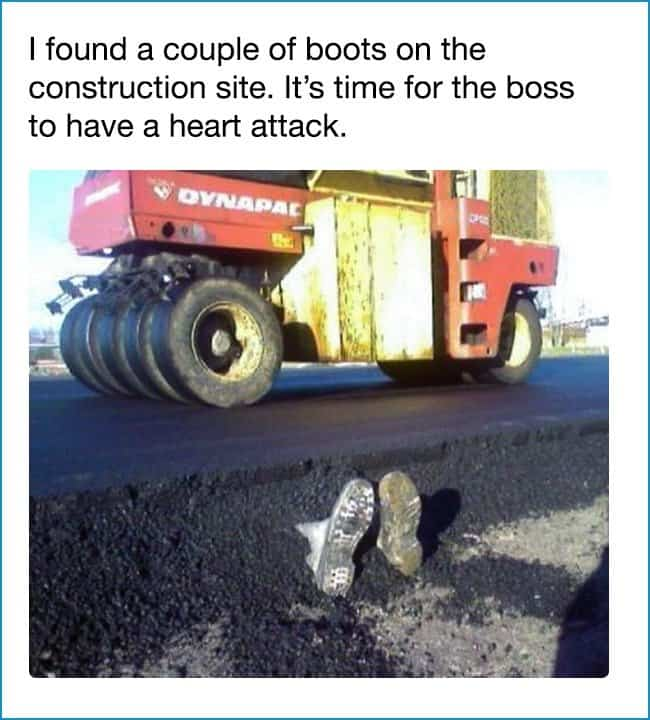 boots_buried_at_roadside_prank_dark_humor