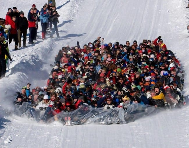 bunch-of-people-snow-sliding-meaningful-pictures