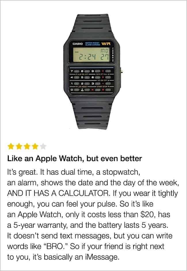 calculator_watch_funny_review