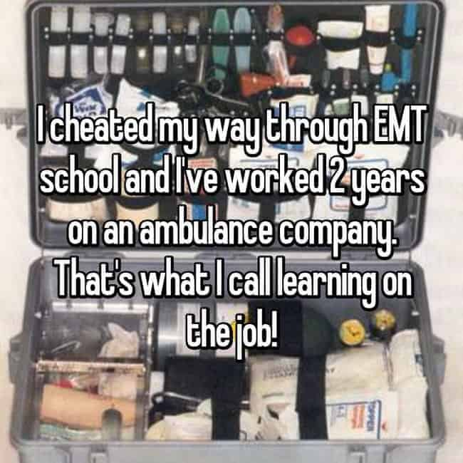 cheated-through-emt-school-and-worked-2-years-at-an-ambulance-company