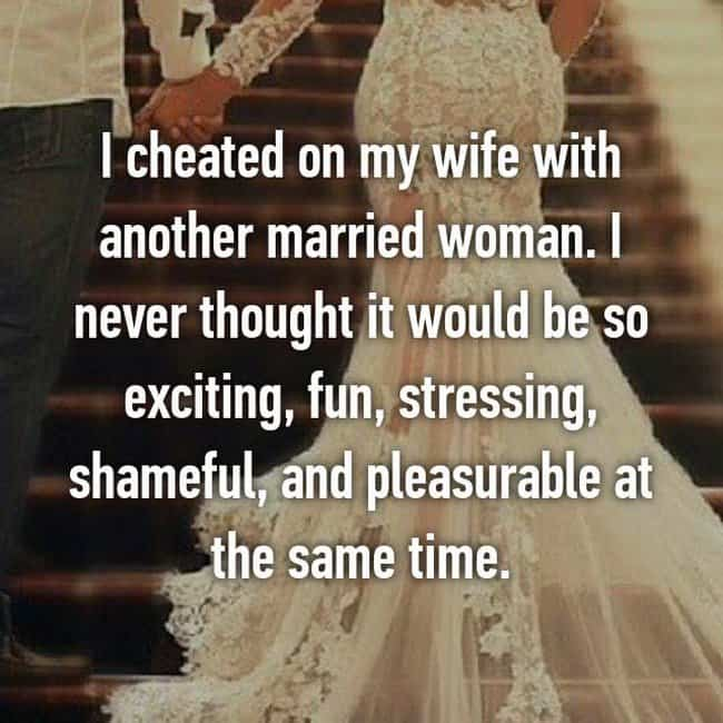 Confesses infidelity wife Wife Confessed