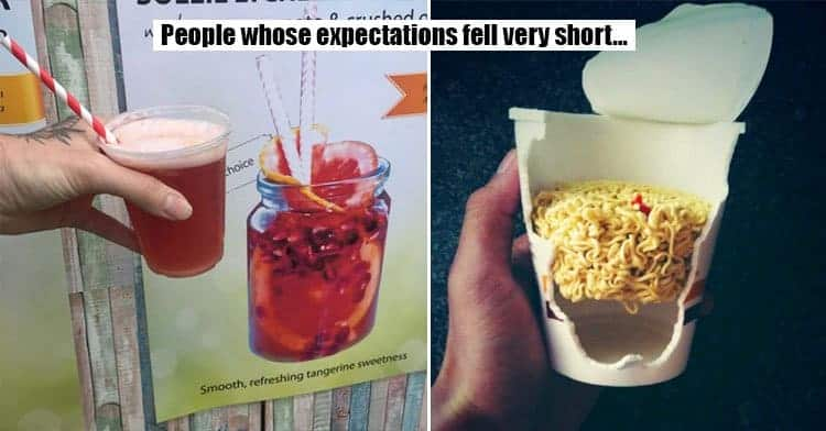 packaging that deceived people