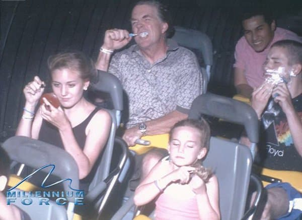 do-morning-routine-while-on-a-roller-coaster