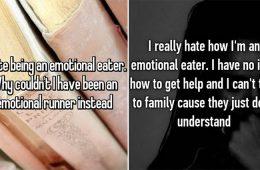 emotional eaters explain their probelm