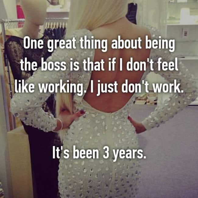 confessions from bosses