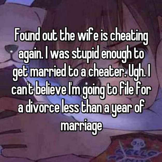 filing_divorce_for_less_than_a_year_of_marriage_to_a_cheater_wife