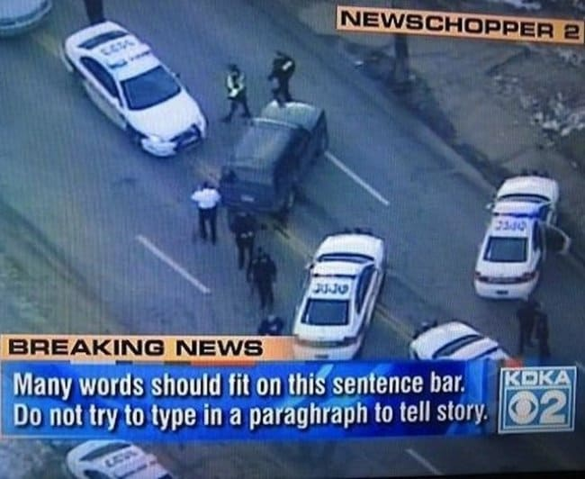 funniest news captions