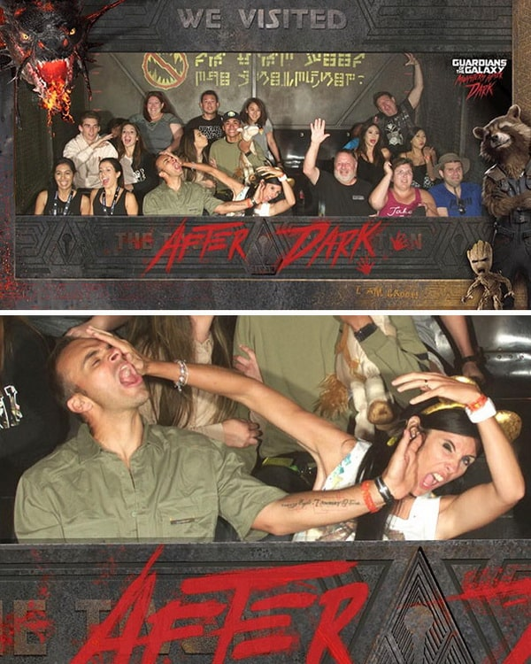 funny-photo-of-a-couple-on-the-after-dark-ride funny roller coaster photos