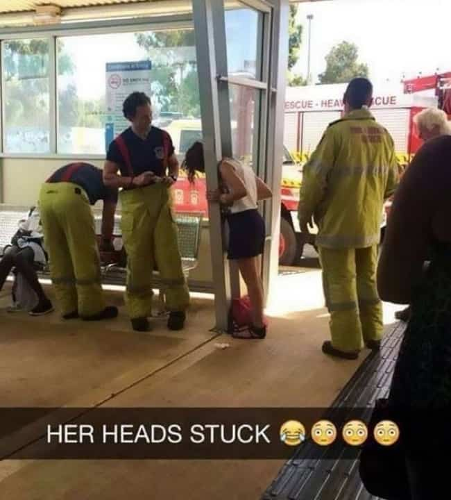girl-head-stuck-in-a-post-when-simple-things-go-wrong