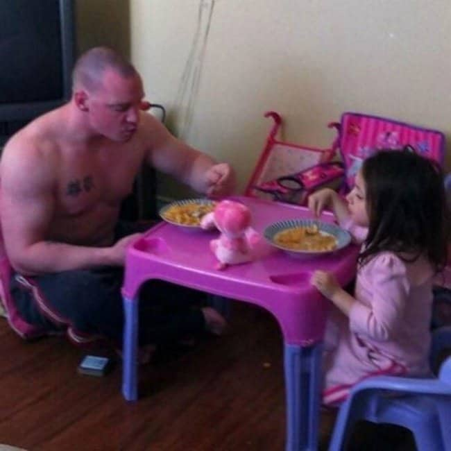 hilarious dads looking after kids