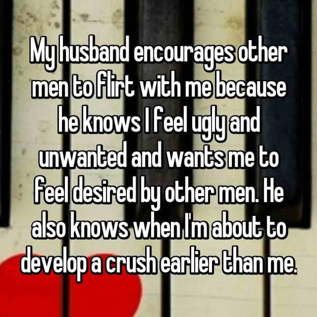 Other Guys Flirt With These Wives and Their Husbands Love It