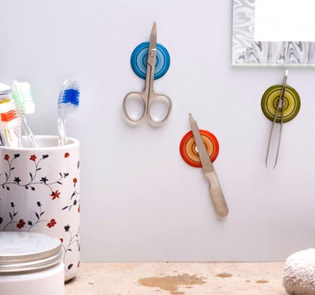 magnetic beauty tool holder