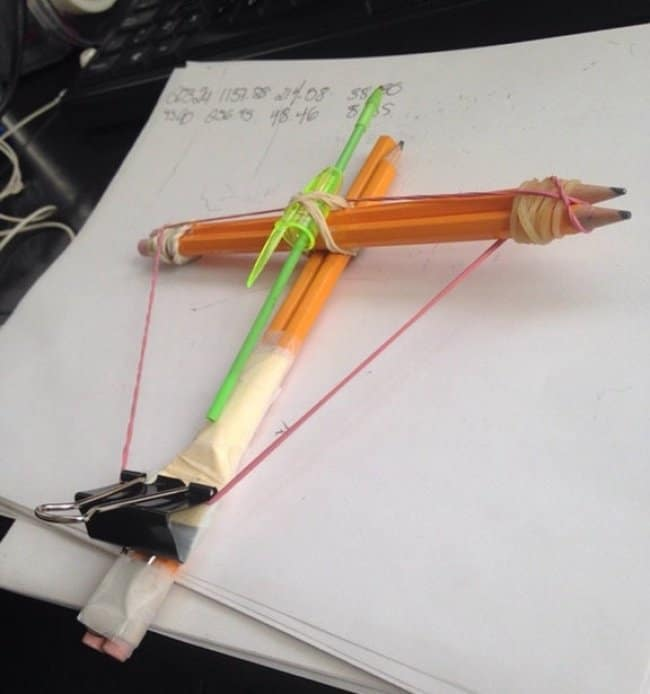 making-crossbow-at-work-creativity-in-hilarious-ways