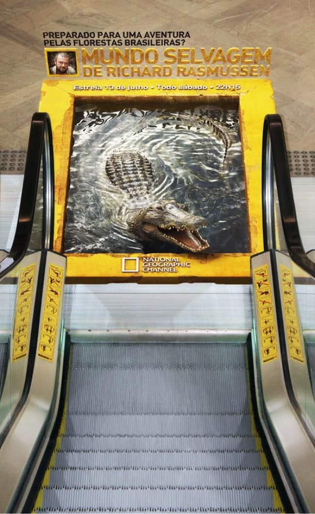 nat_geo_crocodile_creative_escalator_ads