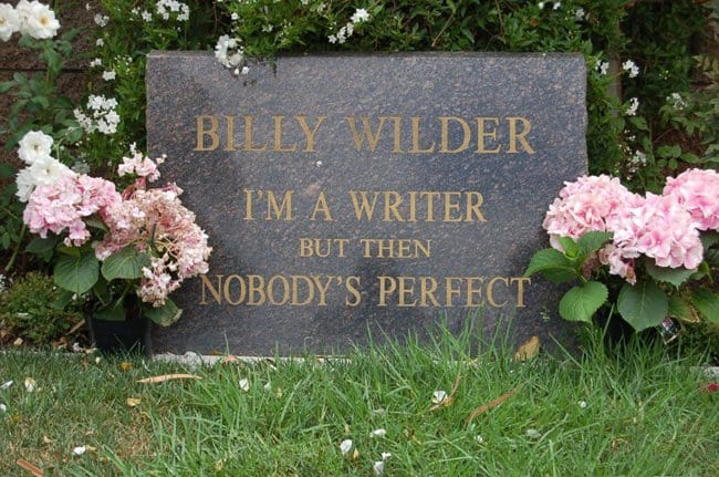 nobody_is_perfect_billy_wilder_gravestone