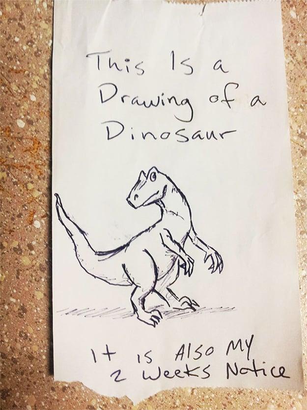 notice_letter_dinosaur_drawing