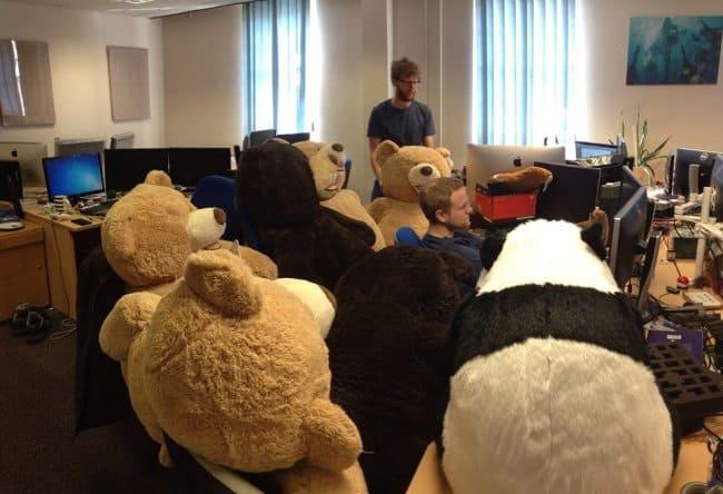office_full_of_teddy_bears