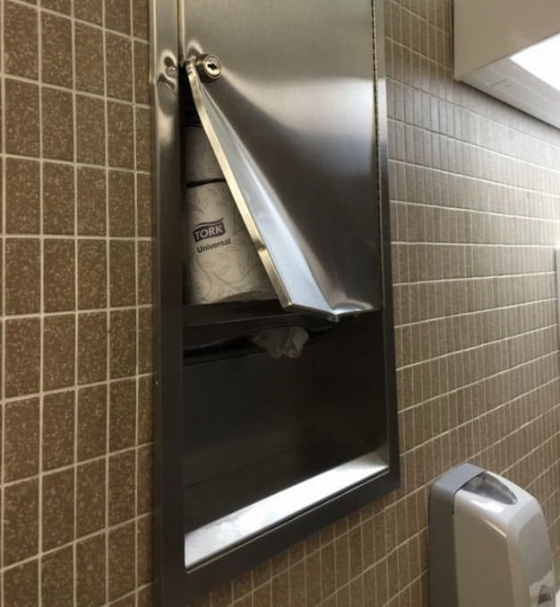 paper-towel-dispenser-with-a-dent