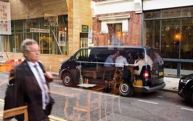 people-reflection-on-glass-window-eating-inside-van-confusing-pictures