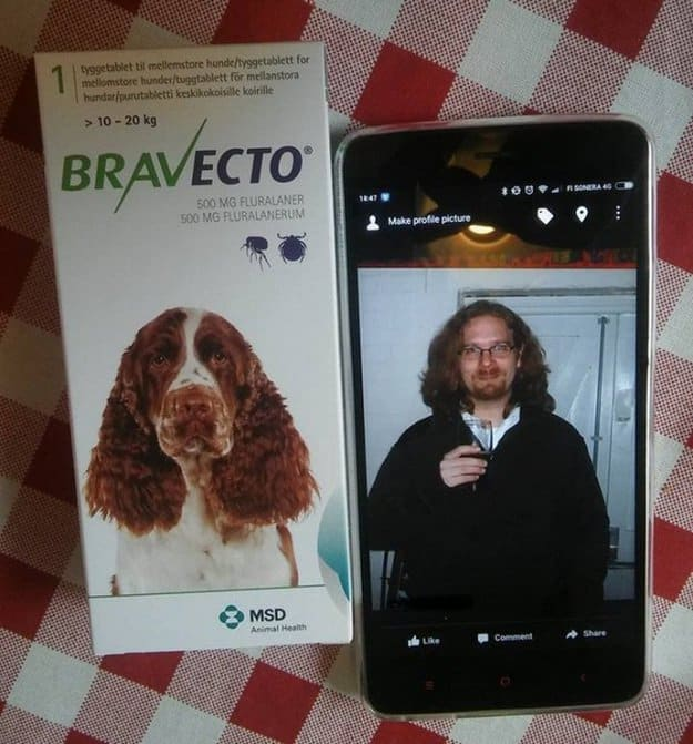 photo-of-a-man-looking-like-the-dog-in-the-bravecto-box