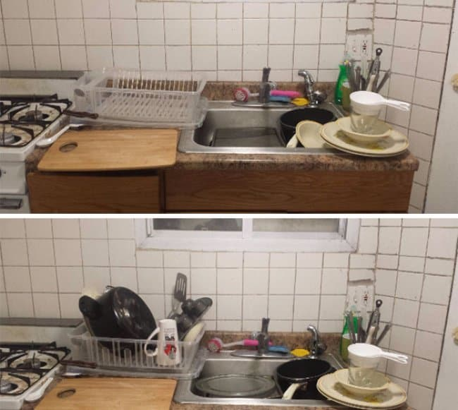 put-clean-dishes-in-the-draining-rack
