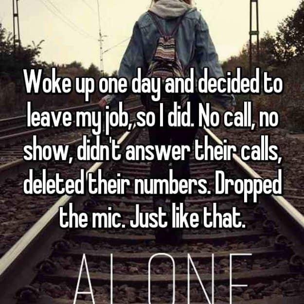 quit_the_job_no_call_no_show