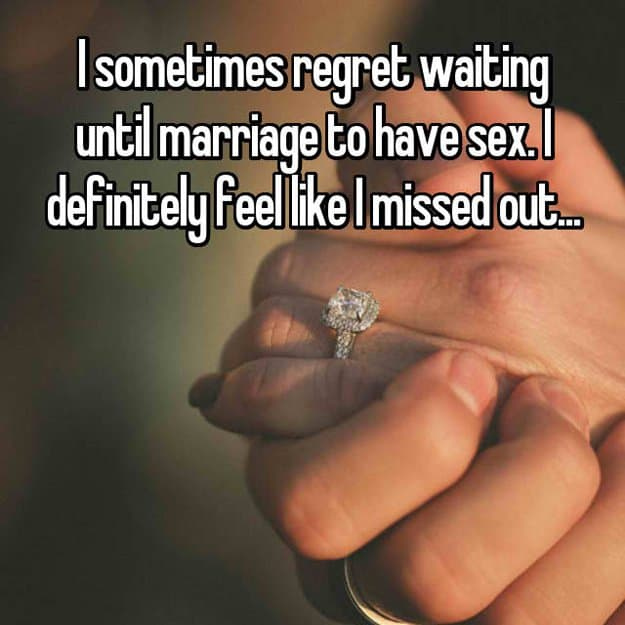 regret_waiting_until_marriage_missed out
