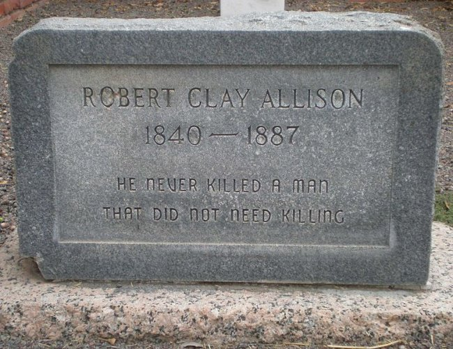 robert_clay_allison_famous_quote_on_gravestone