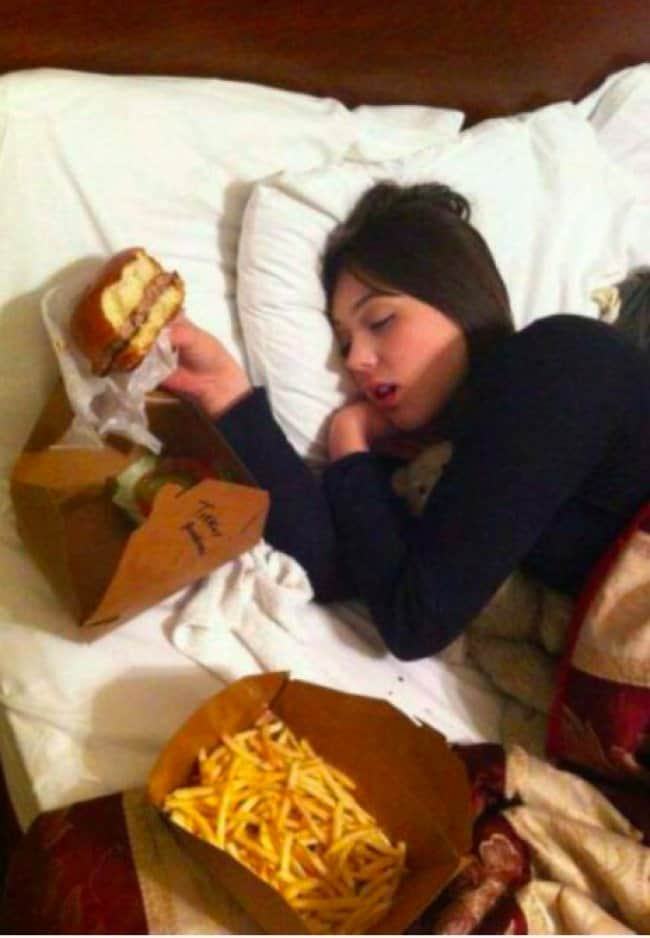 sleeping-girl-holding-a-burger