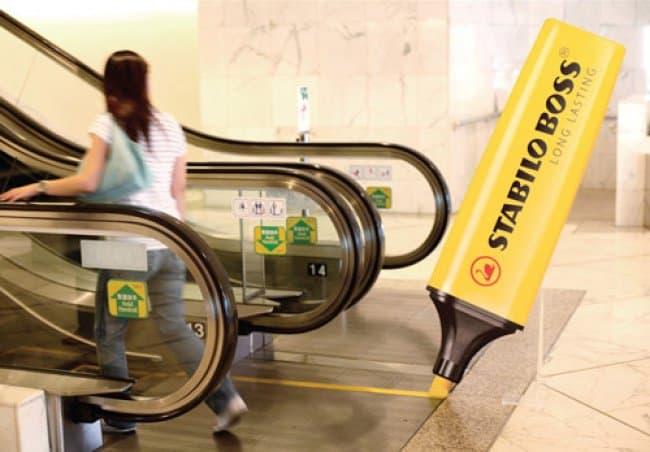 stabilo_boss_endless_highlight_creative_escalator_ads