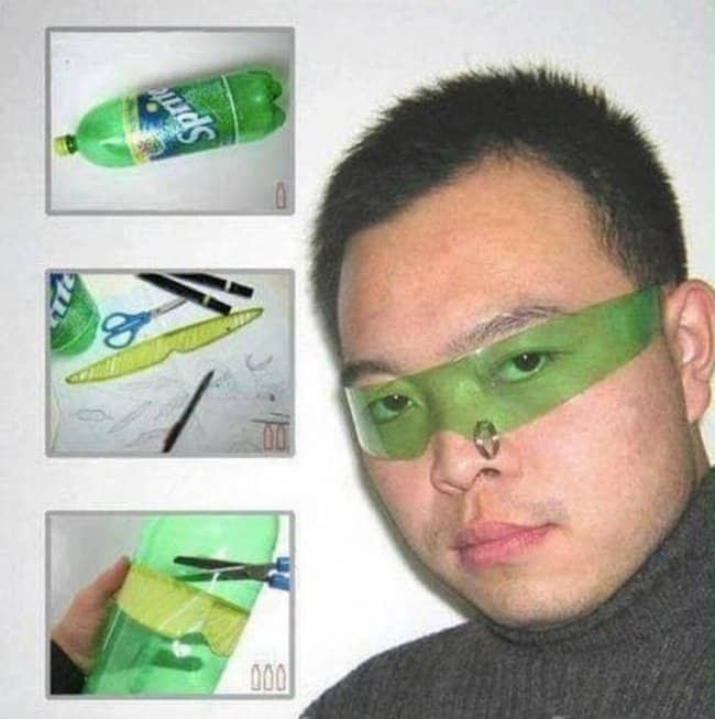 sunglasses-made-from-soda-plastic-bottle-weird-ideas