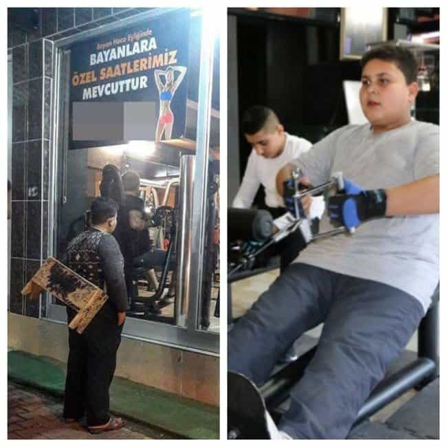 syrian-refugee-shoeshine-boy-free-gym-membership