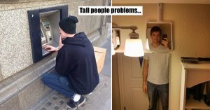 problems that tall people have