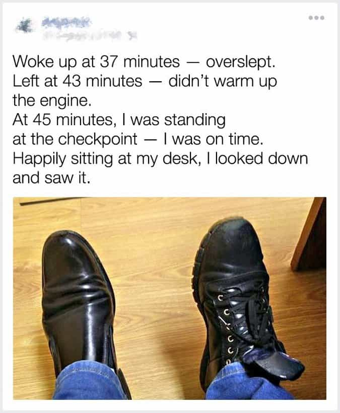wearing-different-types-of-shoes-to-work