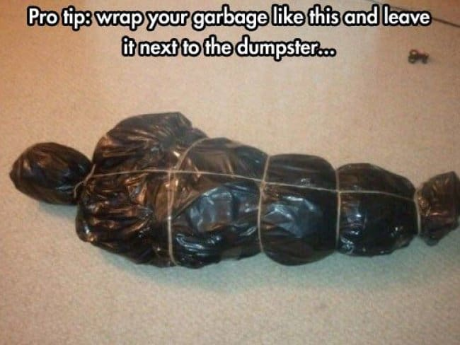 wrapped_corpse_prank_dark_humor