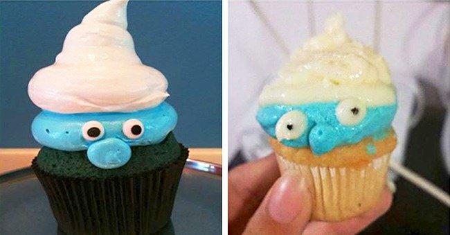 smurf-cupcake