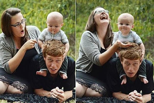 baby-spitting-on-father-head-hilarious-family-photos