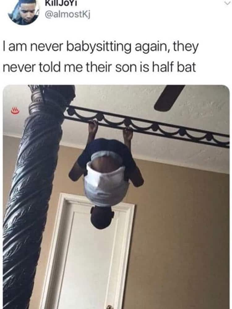 babysitting-a-bat-kid-rotten-luck