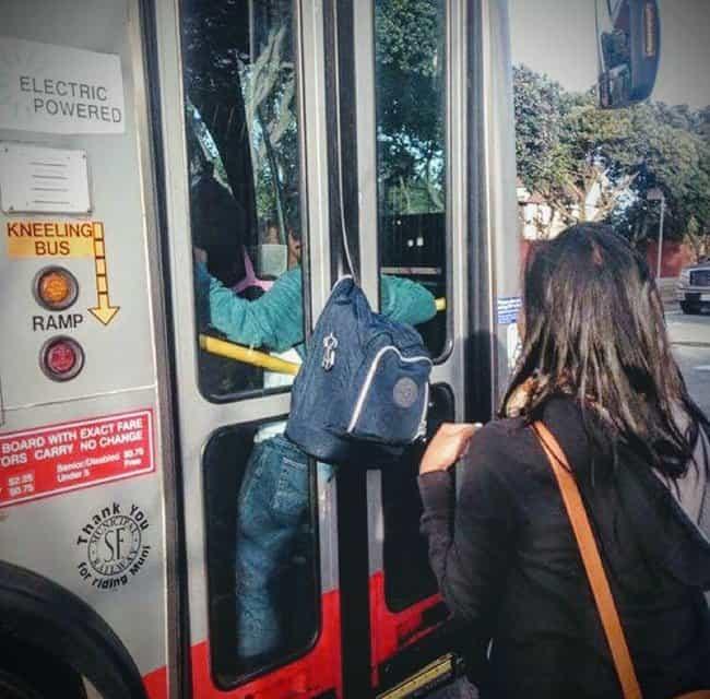 backpack-got-stuck-in-bus-door-photos-that-make-zero-sense